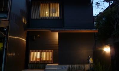 「狭小地域の家@現代京町家」
