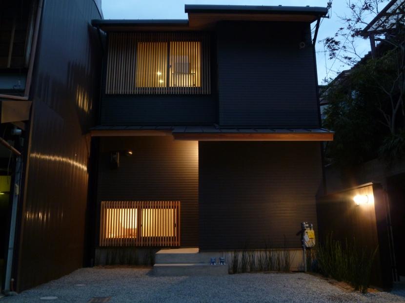「狭小地域の家@現代京町家」の部屋 外観