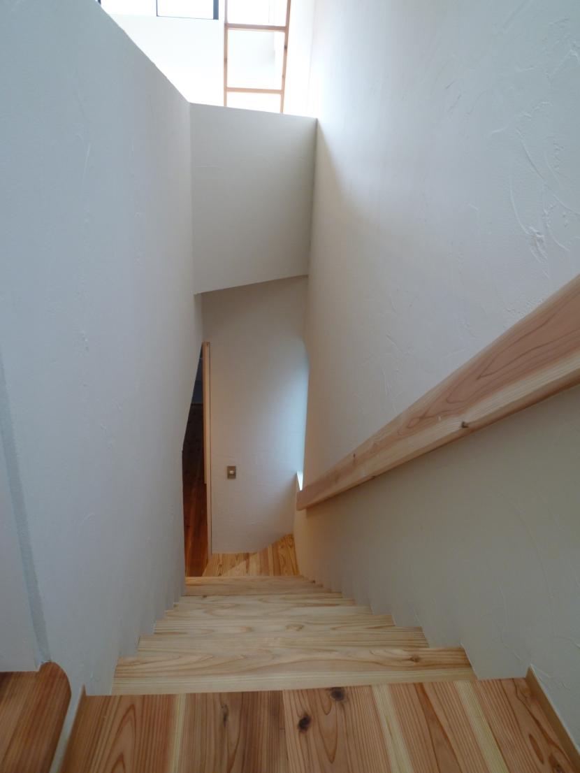 「狭小地域の家@現代京町家」の部屋 階段
