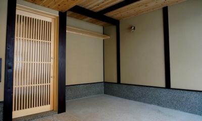 「大正時代の趣が残る家」 (玄関)