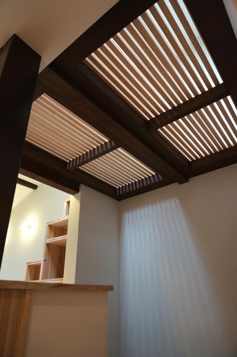 「大正時代の趣が残る家」の写真 天窓