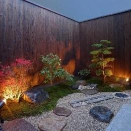 「Machiya Villa」 (庭)