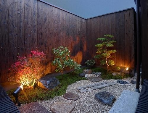 「Machiya Villa」の写真 庭