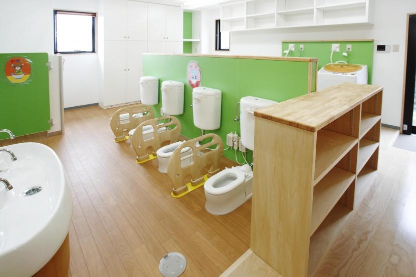 第二深草保育園~みんなの大きなおうち~の部屋 子供用WC