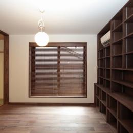木造耐火構造の町屋 (図書室)