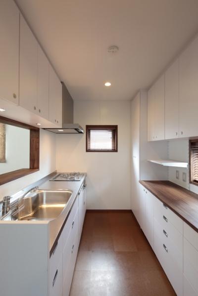 木造耐火構造の町屋 (台所)