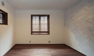 木造耐火構造の町屋~狭小地3階建ての住まい~ (子供室)
