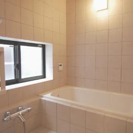 木造耐火構造の町屋 (浴室)