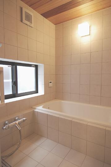 木造耐火構造の町屋の部屋 浴室