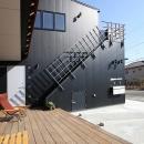 遠藤 浩の住宅事例「ウッドデッキのある二世帯の家」