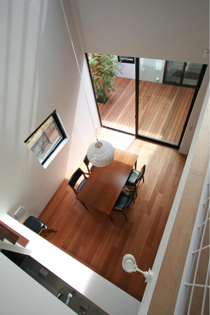 設計事務所アーキプレイス「猫と暮らす中庭のある家」