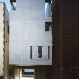 日本橋-川辺の家 (外観)