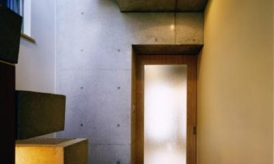 日本橋-川辺の家 (廊下)