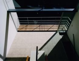 日本橋-川辺の家 (リビングダイニング)