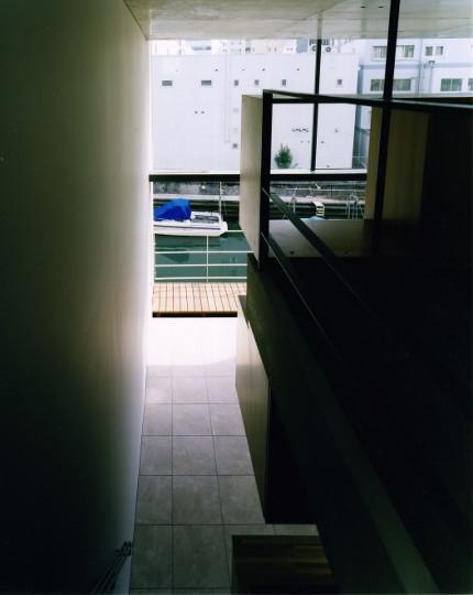 日本橋-川辺の家の写真 踊場からの景色