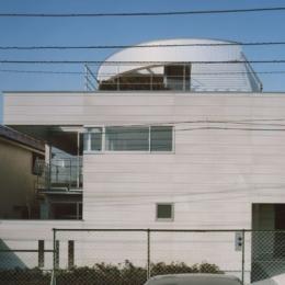 コーナーガーデンの家