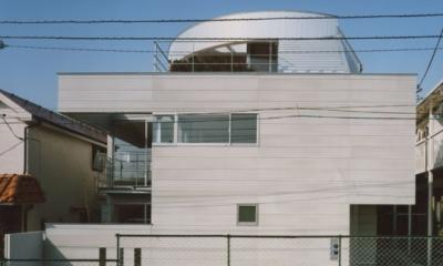 コーナーガーデンの家 (外観)