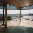 コーナーガーデンの家の写真 和室
