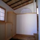 土間ワークスペースのある蔵の家