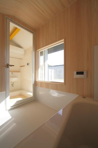 上目黒の家リノベーション (浴室)
