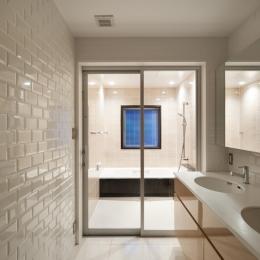 西荻の家 (洗面・浴室)