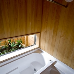 大原の家 (浴室)