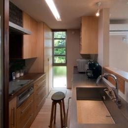 アオハダの家 (キッチン)