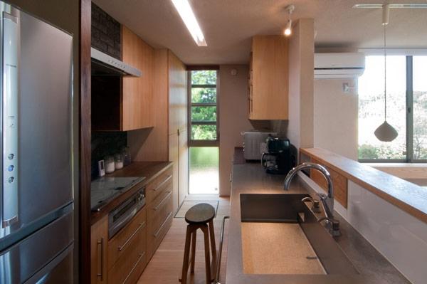 アオハダの家の部屋 キッチン