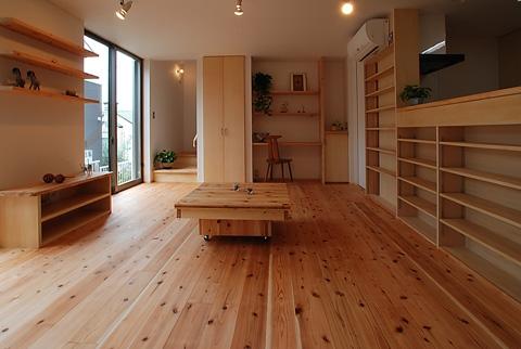 三山の家の写真 家族室