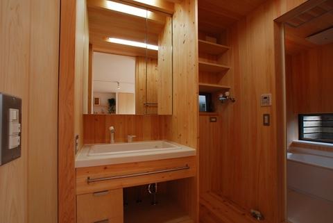 三山の家の写真 洗面脱衣室