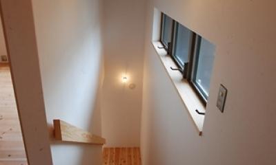 三山の家 (階段)