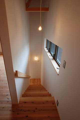 三山の家の写真 階段
