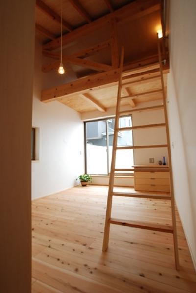 寝室 (三山の家)