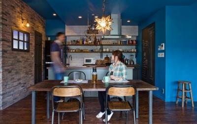 『azur mur』 ― カフェに住む (キッチン1)