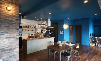 『azur mur』 ― カフェに住む (キッチン2)