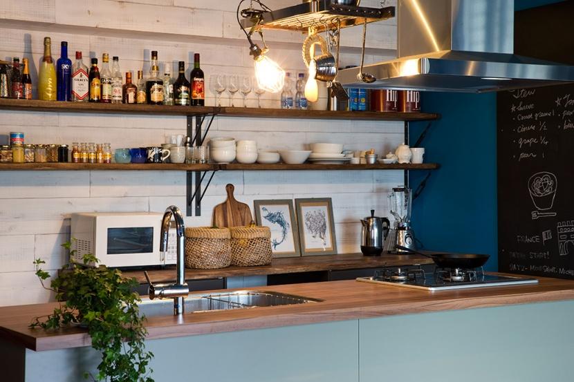 リノベーション・リフォーム会社:空間社「料理番組のようなキッチンに!-azur mu-」