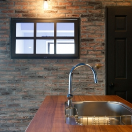 『azur mur』 ― カフェに住む-キッチン3