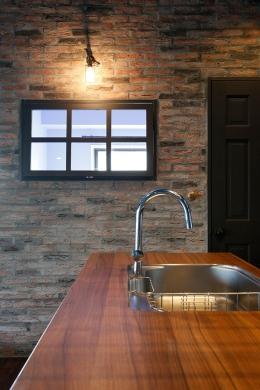 『azur mur』 ― カフェに住む (キッチン3)