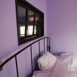 『azur mur』 ― カフェに住む (寝室)