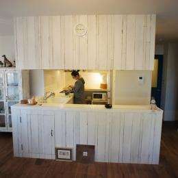 『Rabbit』 ― キッチンをセンターに (キッチン2)