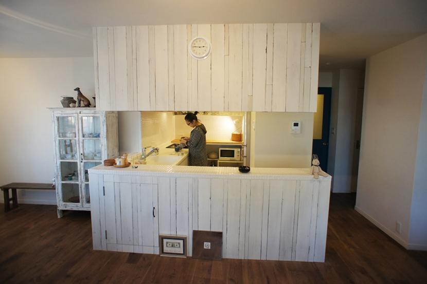 リノベーション・リフォーム会社:空間社「こだわりのキッチンがLDKの主役! - Rabbit -」