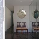 ひかりを組み込む家の写真 玄関