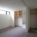 ひかりを組み込む家の写真 主寝室