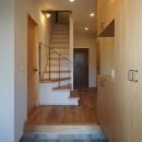 『ROPA』 ― 駆けられる家の写真 土間・玄関1