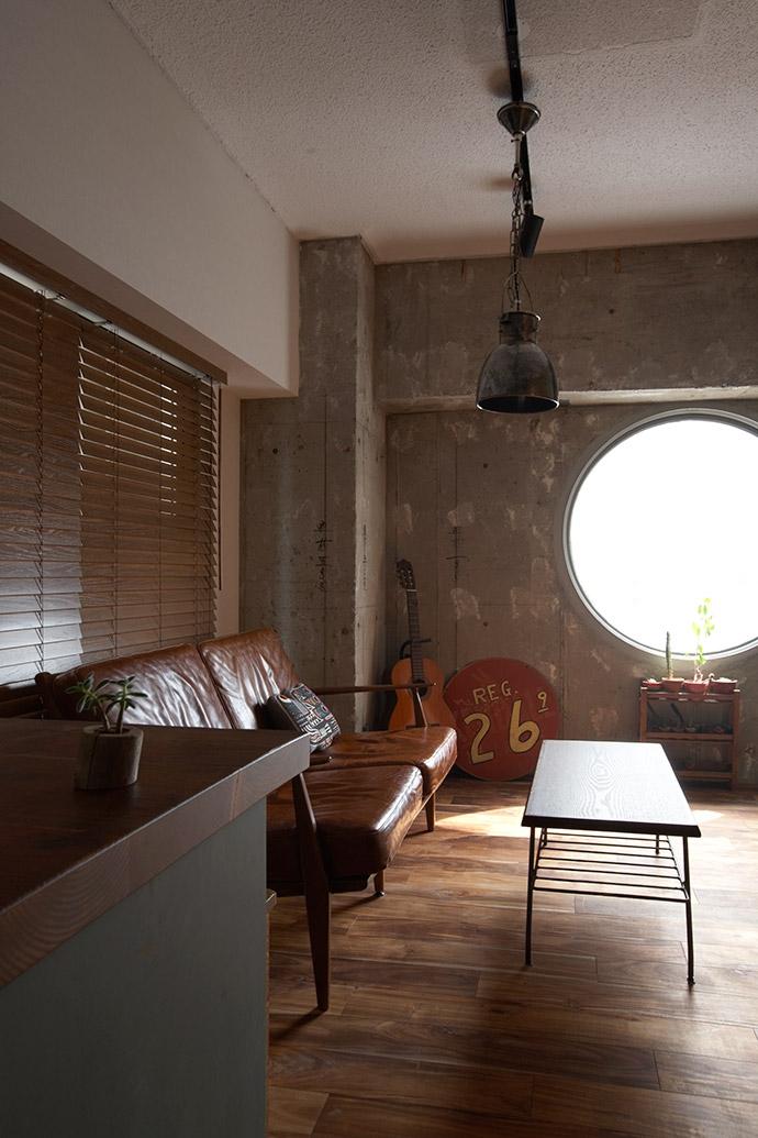 リノベーション・リフォーム会社:空間社「ヴィンテージマンションで渋カッコよく暮らす – circle -」