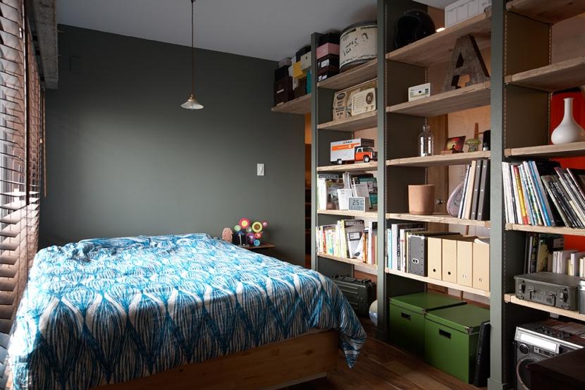 ヴィンテージマンションで渋カッコよく暮らす – circle -の写真 寝室