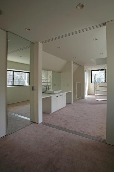 個室 (ひかりを組み込む家)