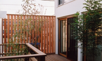都市型住宅-自然を取り込む