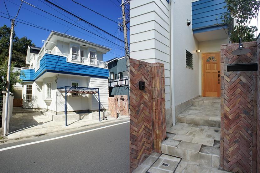 リノベーション・リフォーム会社:空間社「武蔵野の緑に映える青屋根の家 – jasmin bleu -」