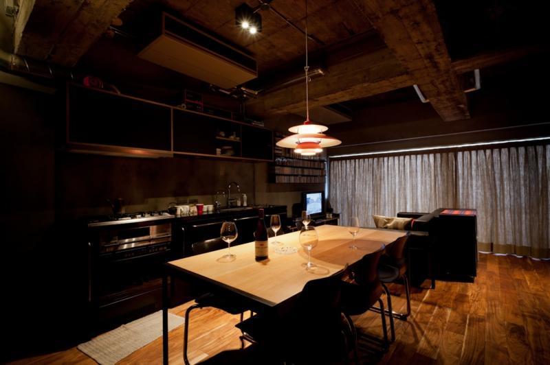 風格漂う中野ブロードウェイで ワインを楽しむ 大人リノベーションの部屋 ダイニングキッチン1